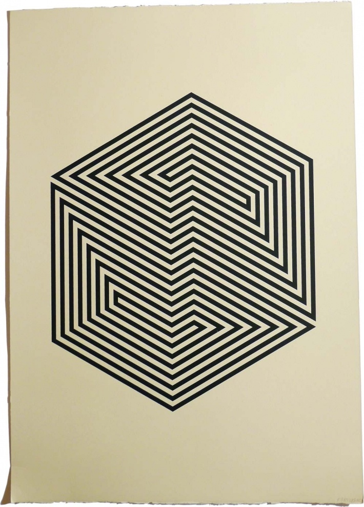LIMITED EDITION SILK SCREEN PRINT BY YANN BRIEN
