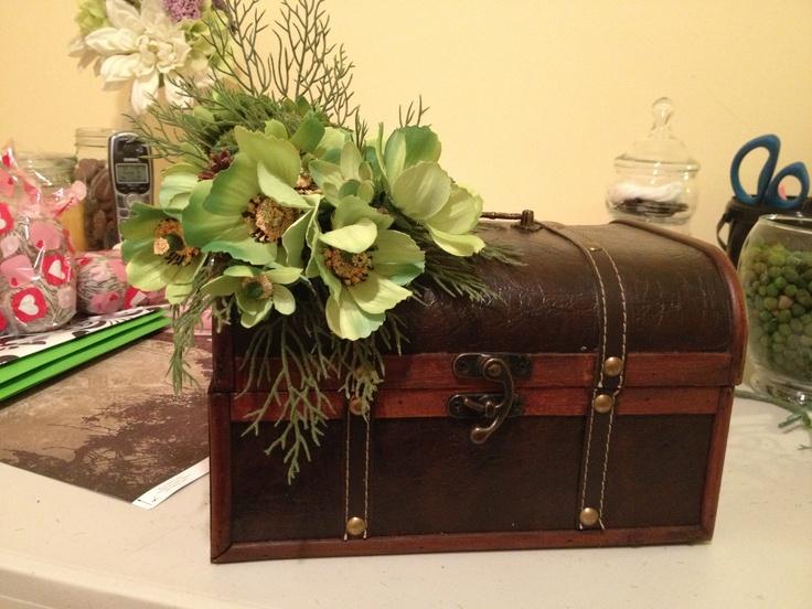 Card box for garden themed bridal shower | wedding ...