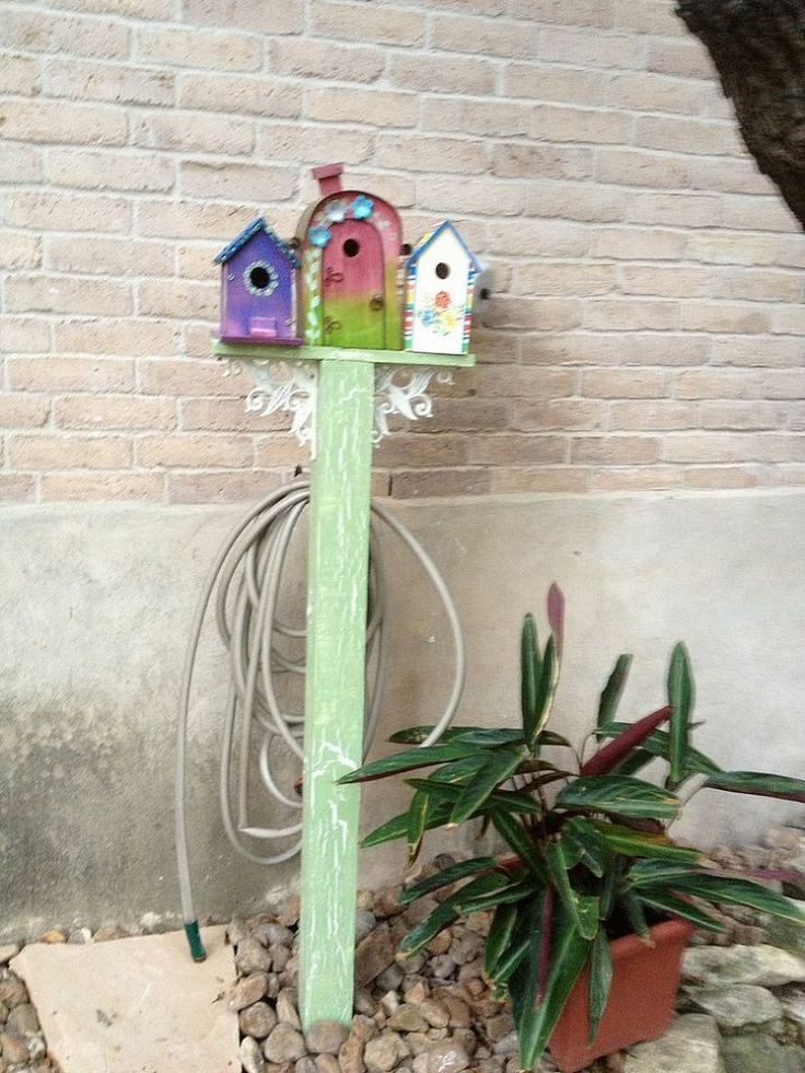 Perfect Way To Hide An Ugly Faucet U0026 Store Garden Hose.