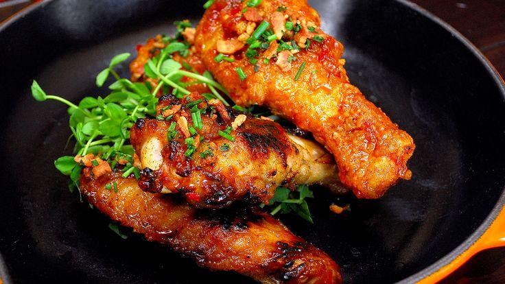 Turkey Wings Two Ways