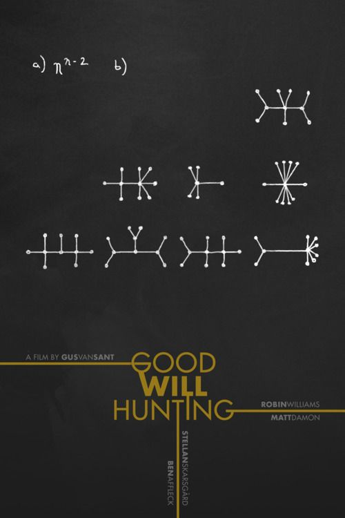 """""""Some people can never believe in themselves, until someone believes in them."""" Good Will Hunting (1997)"""