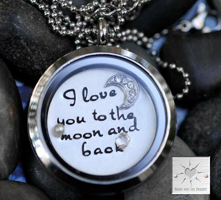 Personalized Locket Necklace  I Love You To by HeartAndSolDesigns, $44.00