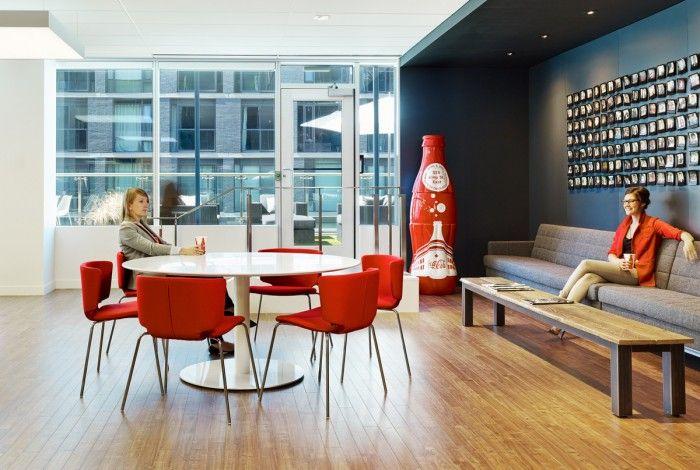 Office tour inside coca cola s toronto headquarters for Bbdo office design 9
