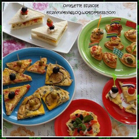 Omelette sfiziose enzamariablog.wordpress.com