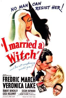 I Married a Witch poster.JPG