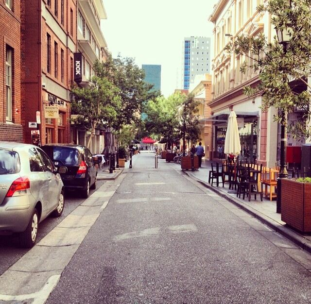 One way or another (20 Leigh St. - Adelaide, South Australia)