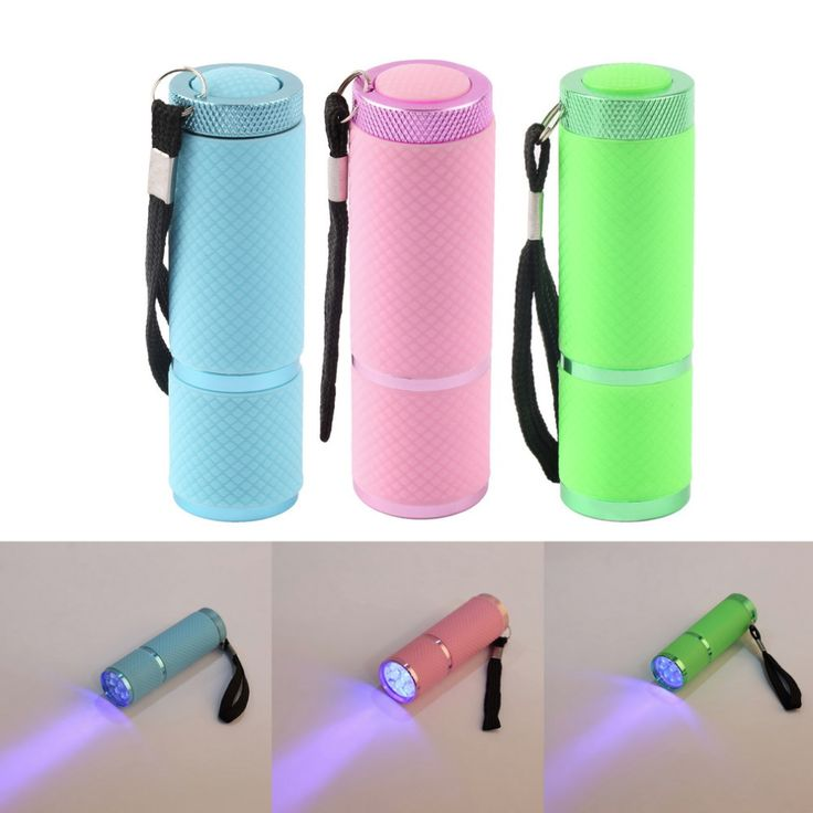 High Quality Portable Mini Nail Curing Flashlight - free shipping worldwide