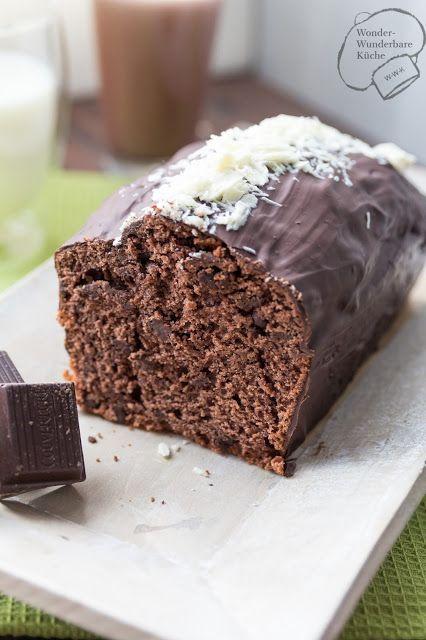 Schokoladen - Buttermilch Kuchen aus der Kastenform