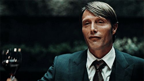 superduperjess: Can we talk about how impressive Hannibal's Windsor knots are on his ties. Gold star for you! Mads Mikkelsen ties them himself.