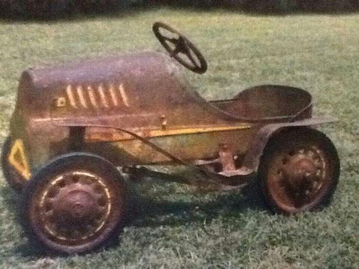 Vintage Peddle Car
