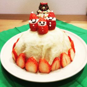 1歳のクリスマスケーキ☆ミルクレープ by nenechan☆ 【クックパッド】 簡単おいしいみんなのレシピが278万品