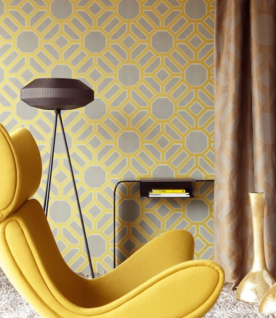 18 best JF Fabrics: Wallcoverings images on Pinterest | Fabric wall ...