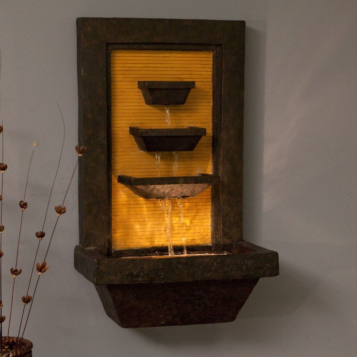 Have to have it. Kenroy Bamboo Cascada Indoor/Outdoor Wall Fountain  $129.99