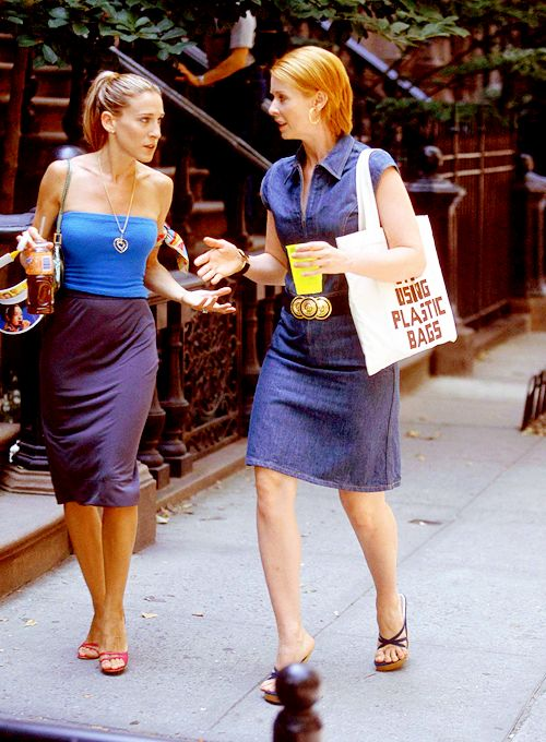 Carrie Bradshaw and Miranda Hobbes. 4.13: The Good Fight