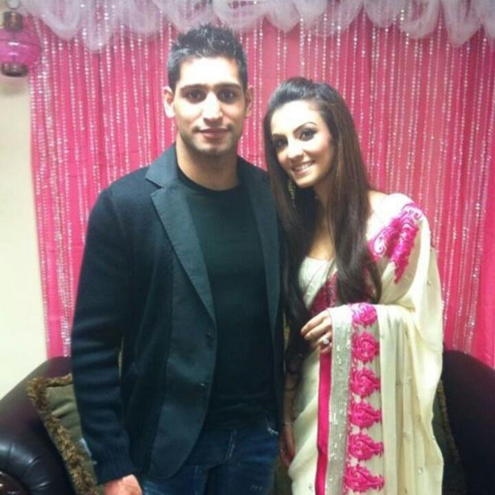 Amir Khan and Faryal M.Khan
