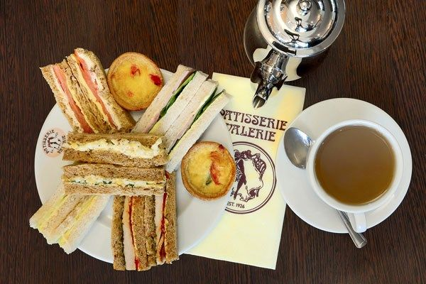 Afternoon Tea for Two at Patisserie Valerie with Cake Gift Box from Buyagift