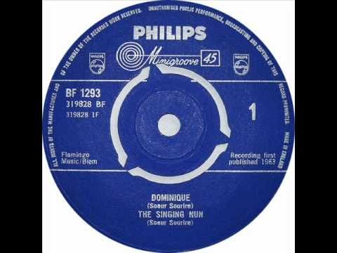 "▶ The Singing Nun - ""Dominique"" - YouTube: My mother used sing this song to me when I was very young."