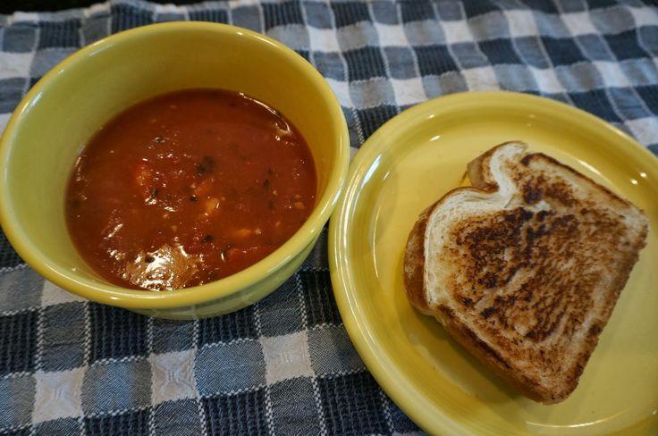 Homemade Tomato Soup - Pin it, make it, love it!