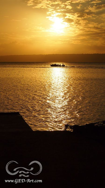 This month's GED Art travel blog featuring Port Vila, Vanuatu - http://www.ged-art.com/some-writing-blog/gentle-gentle-vila #travelblog #travel #explore #sunsets