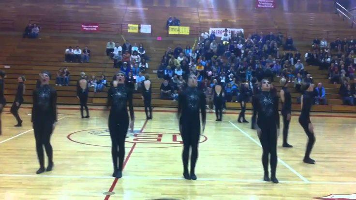 Bountiful High School Drill Team Region Military Routine 2010-2011
