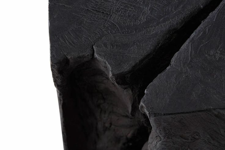 /Selected: Burnt Wood Furniture Collection by Adrianna Shamaris  / sornmagazine.com