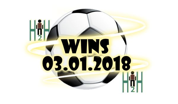 Saturday Football Predictions H2H Saturday Football Predictions H2H, H2H Stats for 03.02.2018  WINS Suggestions for Today Saturday Football Predictions H2H is our section for soccer h2h stats analysis, all free soccer picks H2H stats are analyzed, only the best are selected and delivered to our visitors, Here are Saturday Football Predictions H2H, choose wisely, not always H2H Stats make winning predictions. Our team is analyzing all Saturday Football Predictions H2H, in order to bring you…