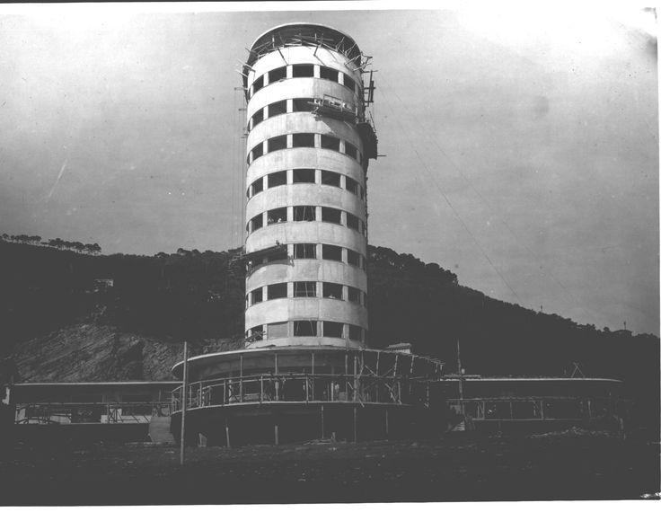 """1934 CHIAVARI (GE) COLONIA MARINA PERMANENTE """"G. FARA"""" by CAMILLO NARDI GRECO (foto d'epoca/arch. Greco)"""