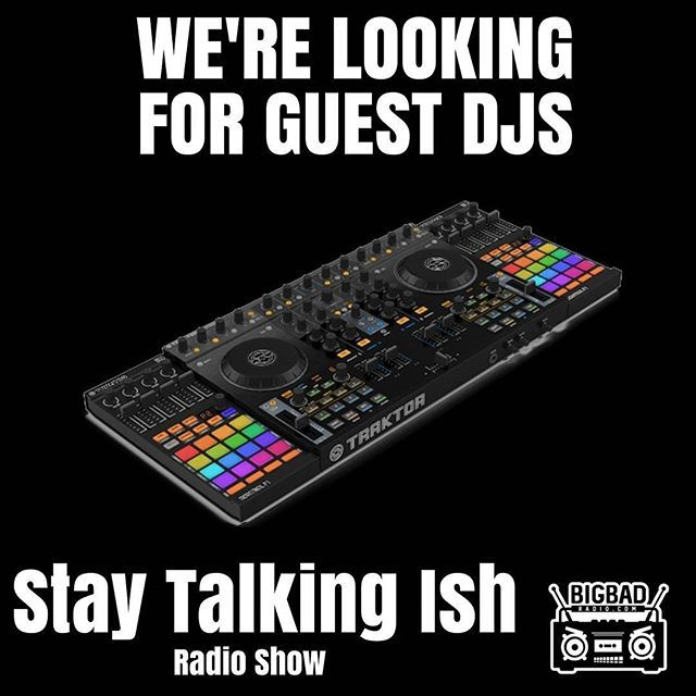 The Stay Talking Ish radio show is looking for guest DJs. Come spin and promote yourself on the best internet radio station in Philly. DM us or send a email to staytalkingish@gmail.com  #philly #dj #philadelphia #djlife #producer #phillygram #djs #nightlife #trap #edmnation #cityofbrotherlylove #eagles #215 #instadelphia #phillysupportphilly #explorephilly