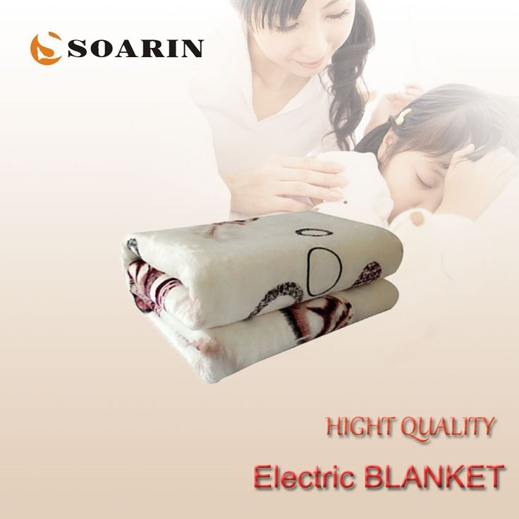 (31.38$)  Buy here - http://airbh.worlditems.win/all/product.php?id=32749824512 - SOARIN Electric Blanket Double Electric Heating Blanket Flannel Electric Blanket Electric Heated Blanket 150x120cm Body Warmer