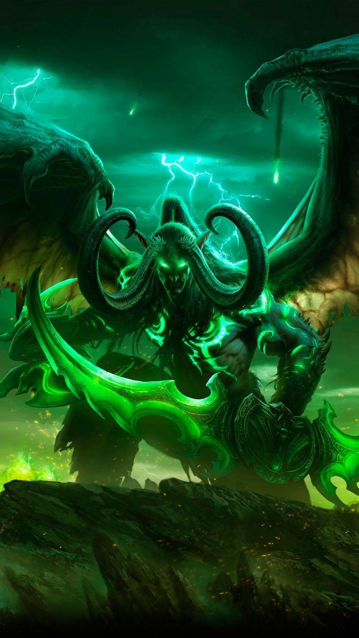 Illidan Stormrag World Of Warcraft Legion Demon Online Game