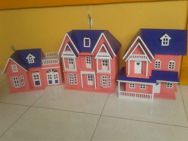 Rumah barbie,Miniatur Rumah #barbiedolls #miniaturrumah