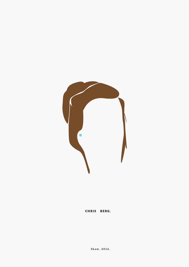 Chris Berg. SKAM. 2016. __________minimal project - (Part Nine) IG https://www.instagram.com/brbrgraphics/