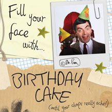 Official Mr Bean Birthday Card available from publishers with Free UK Delivery at https://www.danilo.com/Shop/Cards-and-Wrap/Mr-Bean/Mr-Bean-Square-Birthday-Card