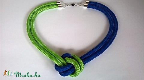 Easy kék/zöld nyaklánc (particulARTist) - Meska.hu