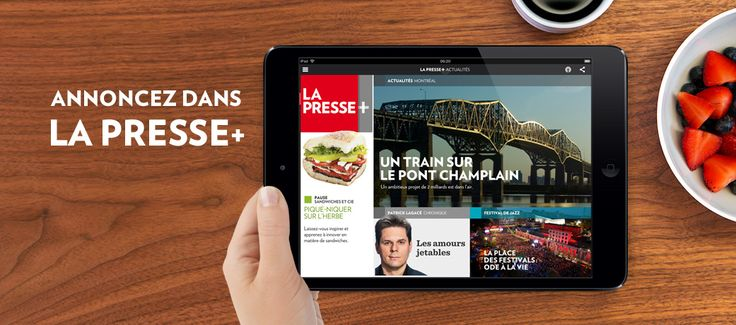 LaPresse+ journal quotidien newspaper future