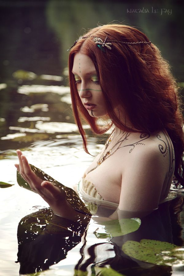 Helena - the sorrowful Naiad II by NataliaLeFay.deviantart