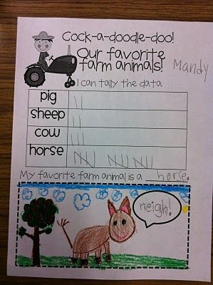 Farm unit - data collecting! -- This blog has a lot of other really great ideas!