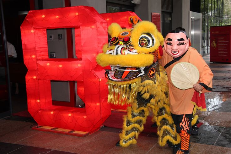 Eureka Skydeck 88 - welcome to the Chinese New year in Melbourne