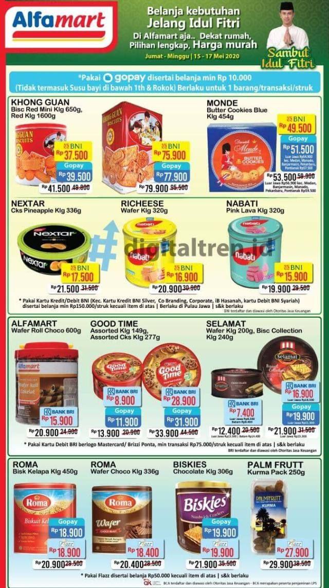 Promo Jsm Alfamart Belanja Jelang Idul Fitri 15 17 Mei 2020 Idul Fitri Biskuit Makanan Dan Minuman