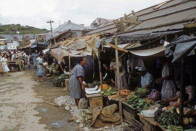 Good View of Fruit & Vegetable Market - Naha - Sep 53 | Flickr - Photo Sharing!