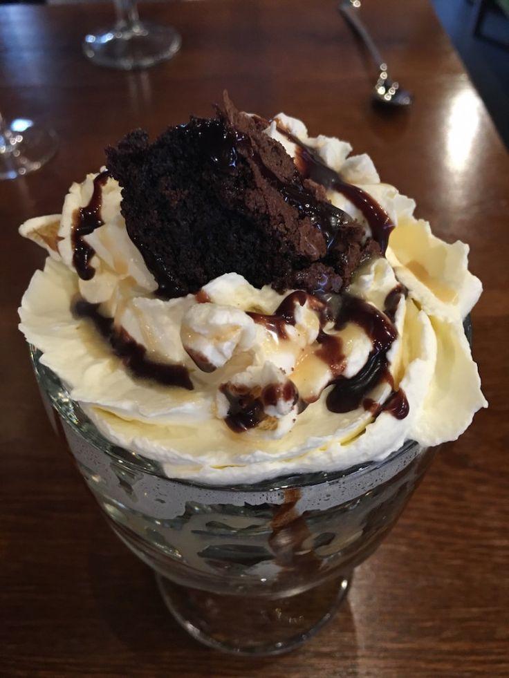 Ice Cream Sundae from TGI Fridays, Manchester : sugardustandstarlight.co.uk