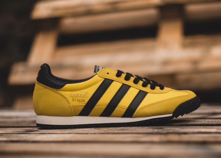 adidas dragon black and yellow