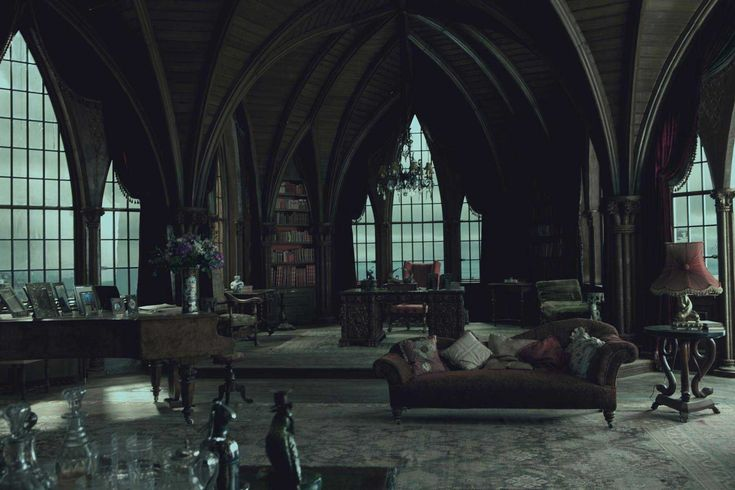 gothic living room