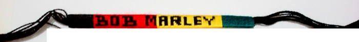 Bob Marley - Handmade Bracelet