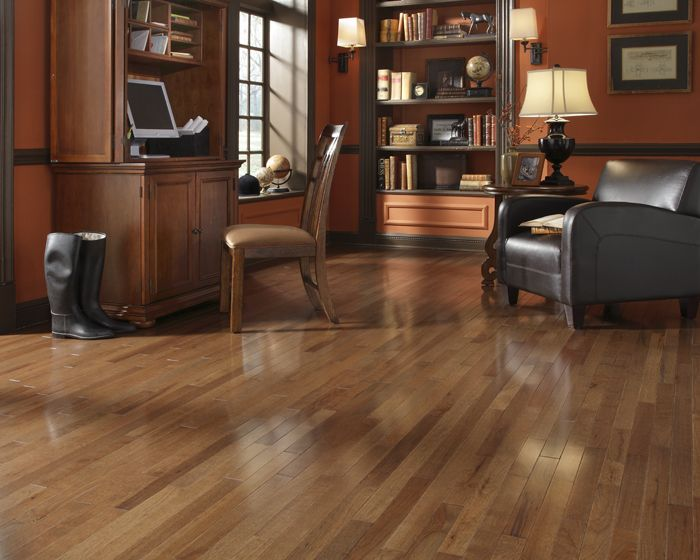 Walnut Hickory A Stained Solid Hardwood By Casa De Colour