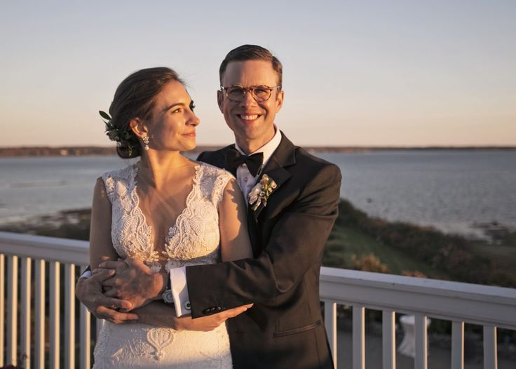 Real French's Point oceanfront Maine wedding   Chris Bennett Photography