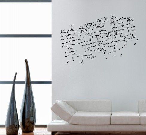 52 besten Sprüche für die Wand Bilder auf Pinterest Sprüche für - wandtattoo für badezimmer