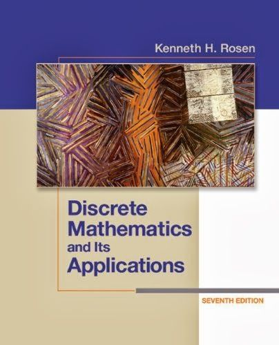 "[Solution Manual]Discrete Mathematics and its Application by Kenneth H Rosen 7th Edition Free Download       Description Download solution manual for the Discrete Mathematics and its Application book by Kenneth H Rosen. This manual contains solutions for the Even numbered questions of Chapter 1.  Simply click on the blue ""Direct Download"" button to download, alternatively you can download by clicking any black Download buttons below, downloading from Uppit"