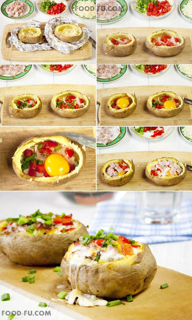 Twice Baked Potatoes | Food-Fu.com