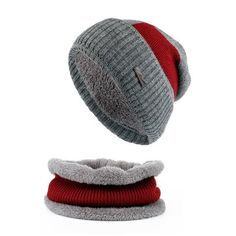 Winter Men's Fashion Collar Scarf + Knitted Beanie Hat - Navy,Black,Red,Grey Men's Fashion 2017 Guys Winter For him Gift ideas beanies dad guys boy outfit style Fashion Casual Menswear Cool Style Gift Products Website links Store Shop Buy Sell Sale Online outfit style awesome Shopping mens skullies Accessories fall autumn Winter accessoire hiver bonnet homme modèle mode Achat Acheter en ligne Site de vente l'automne